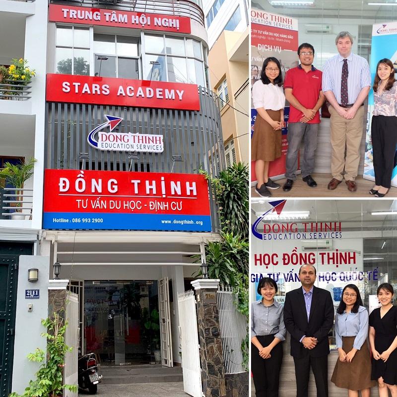 Trụ sở Du Học Đồng Thịnh TPHCM