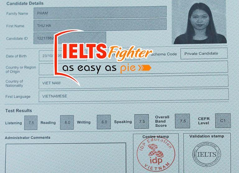 Cách tính điểm IELTS - IELTS Fighgter
