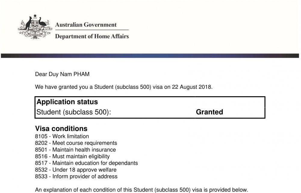 visa du học Úc, Bật mí Thời gian đợi có thẻ visa du học Úc mất bao lâu